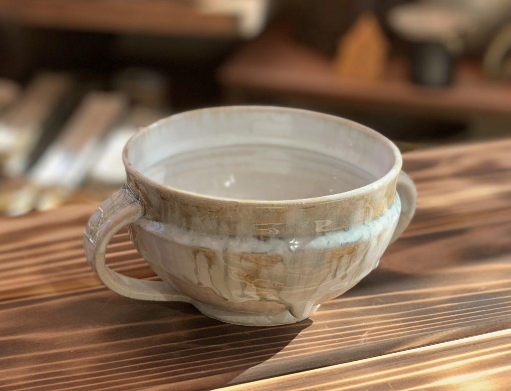 時の流れ スープカップ1